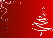 Het ontwerp van de kerstkaart royalty-vrije illustratie