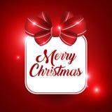 Het Ontwerp van de Kerstmisbanner stock afbeelding