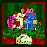 Het Ontwerp van de Kerstmisbanner Stock Foto's