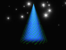 Het ontwerp van de Kerstmisboom Royalty-vrije Stock Foto