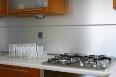 Het ontwerp van de keuken Royalty-vrije Stock Afbeelding