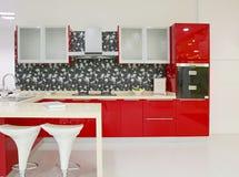 Het ontwerp van de keuken Stock Afbeelding