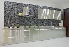 Het ontwerp van de keuken Royalty-vrije Stock Foto's