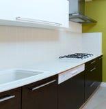 Het ontwerp van de keuken Stock Foto's