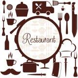 Het ontwerp van de keukenlevering Royalty-vrije Stock Afbeeldingen