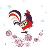 Het ontwerp van de kip Stock Afbeeldingen