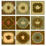 Het ontwerp van de koffie stock illustratie