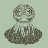Het ontwerp van de krabbelkunst Royalty-vrije Stock Foto's