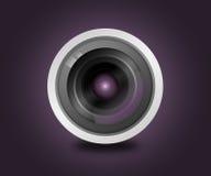 Het ontwerp van de lensgloed Stock Fotografie