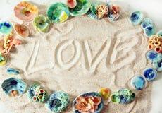Het ontwerp van de liefde Stock Afbeelding