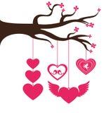 Het ontwerp van de liefdekaart, vectorillustratie eps 10 Royalty-vrije Stock Afbeelding