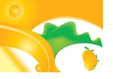 Het Ontwerp van de mango Royalty-vrije Stock Foto's