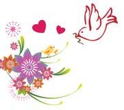 Het ontwerp van de moedersdag Stock Afbeeldingen
