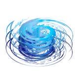 Het ontwerp van de orkaan Stock Foto's