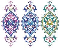 Het ontwerp van de ottomane royalty-vrije illustratie