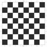 Het Ontwerp van de schaakraad Royalty-vrije Stock Foto's