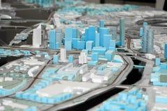 Het ontwerp van de stad Stock Foto's