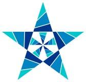 Het ontwerp van de ster Stock Afbeelding
