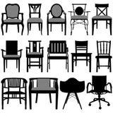 Het Ontwerp van de stoel Stock Foto's