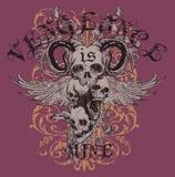 Het ontwerp van de t-shirt Stock Fotografie