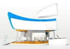 Het ontwerp van de tentoonstellingstribune Stock Foto