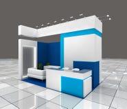 Het ontwerp van de tentoonstellingstribune Royalty-vrije Stock Afbeelding