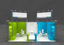 Het ontwerp van de tentoonstellingstribune Royalty-vrije Stock Afbeeldingen