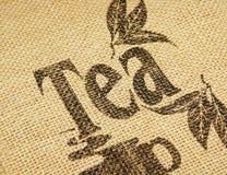 Het ontwerp van de thee Stock Afbeelding