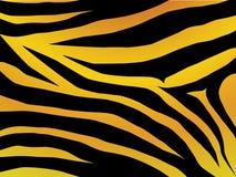 Het ontwerp van de tijger stock illustratie