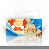 Het Ontwerp van de uitnodigingskaart, Malplaatje stock illustratie