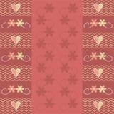 Het ontwerp van de valentijnskaart Royalty-vrije Illustratie
