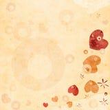Het ontwerp van de valentijnskaart Royalty-vrije Stock Afbeeldingen
