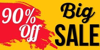 Het ontwerp van de verkoopbanner Stock Fotografie