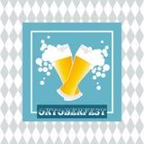 Het ontwerp van de Viering van Oktoberfest Stock Fotografie