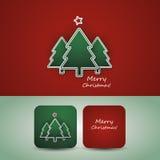 Het Ontwerp van de Vlieger of van de Dekking van Kerstmis Stock Afbeelding