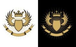 Het ontwerp van de wapenkunde Royalty-vrije Stock Afbeelding