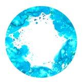 Het ontwerp van de waterverfplons Stock Fotografie