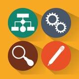 Het ontwerp van de Webontwikkelaar Royalty-vrije Stock Afbeelding