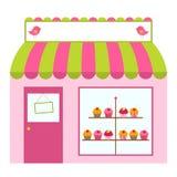 Het ontwerp van de winkel of van de koffie Stock Foto's