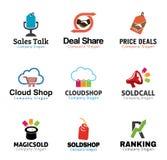 Het Ontwerp van de winkelsupermarkt Royalty-vrije Stock Foto's