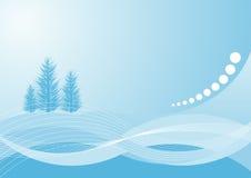 Het ontwerp van de winter vector illustratie