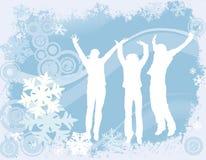 Het ontwerp van de winter royalty-vrije illustratie