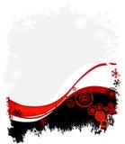 Het ontwerp van de winter Stock Fotografie