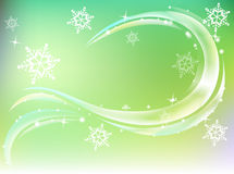 Het ontwerp van de winter Stock Foto