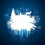 Het ontwerp van de winter grunge stock illustratie