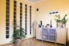Het ontwerp van de woonkamer royalty-vrije stock afbeeldingen