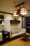 Het ontwerp van de woonkamer Stock Foto