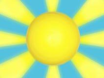 Het ontwerp van de zon   Royalty-vrije Stock Afbeeldingen