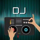 Het ontwerp van DJ vector illustratie