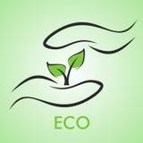 Het ontwerp van Eco Royalty-vrije Stock Foto's